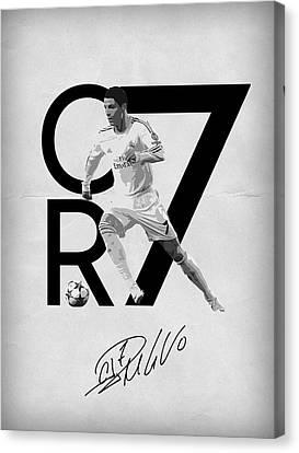 Cristiano Ronaldo Canvas Print