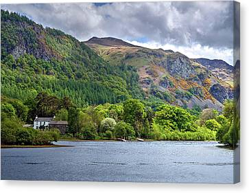 Derwentwater - Lake District Canvas Print by Joana Kruse