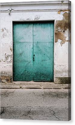 Canvas Print featuring the photograph Door With No Number by Marco Oliveira