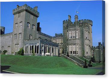 Dromoland Castle In Ireland Canvas Print by Carl Purcell