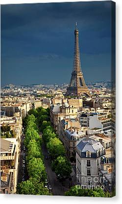 Eifel Canvas Print - Eiffel Tower by Brian Jannsen