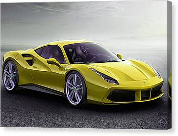 Ferrari Collection Canvas Print by Marvin Blaine