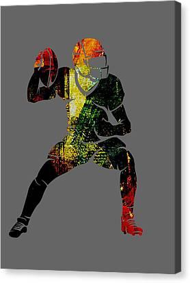Football Collection Canvas Print