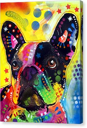 French Bulldog Canvas Print by Dean Russo