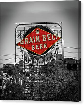 Grain Belt Beer Canvas Print