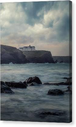 Canvas Print - Gunwalloe Church Cove - England by Joana Kruse