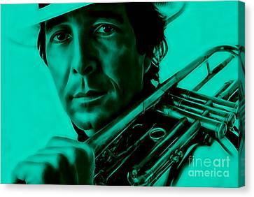 Trumpet Canvas Print - Herb Alpert Collection by Marvin Blaine