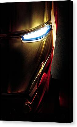 Iron Man Canvas Print by Unknown
