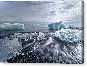 Jokulsarlon - Iceland Canvas Print