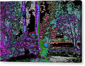 Landscape Abstraction Canvas Print by Anand Swaroop Manchiraju