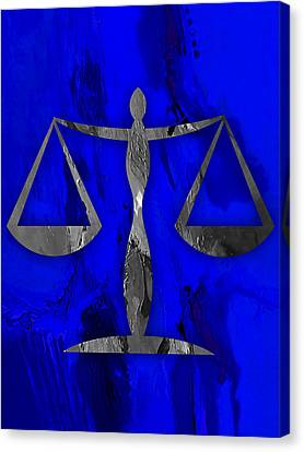 Law Office Collection Canvas Print by Marvin Blaine