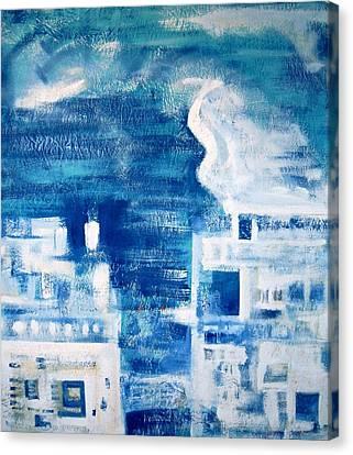 Eternal Flow Canvas Print - Les Deux Balcons by Contemporary Luxury Fine Art