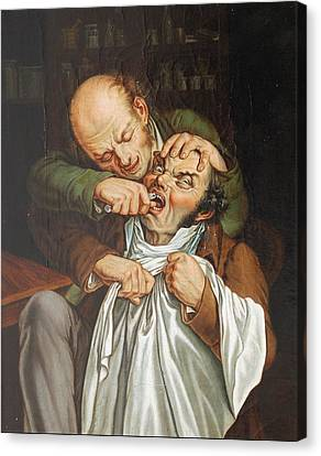 Real Experiences Canvas Print - Lopold Boilly  by Louis