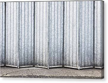 Metal Door Canvas Print