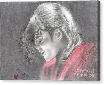 Michael Jackson #one Canvas Print by Eliza Lo