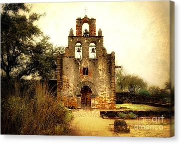 Mission Espada Canvas Print