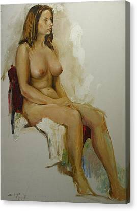 Model Study Canvas Print by Tigran Ghulyan