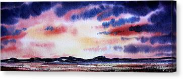 Montana Landscape Canvas Print by Kevin Heaney