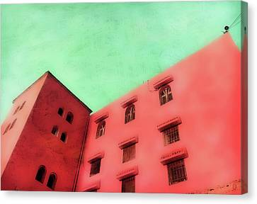 Moroccan Building Canvas Print by Tom Gowanlock