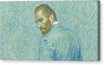 Vincent Canvas Print - Our Loving Vincent by Anna Kluza