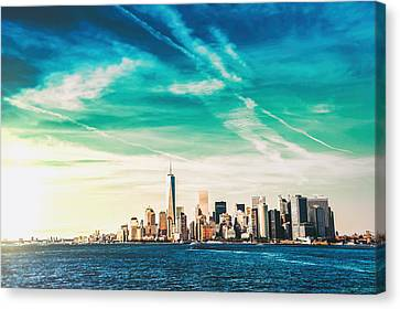 New York City Skyline Canvas Print by Vivienne Gucwa