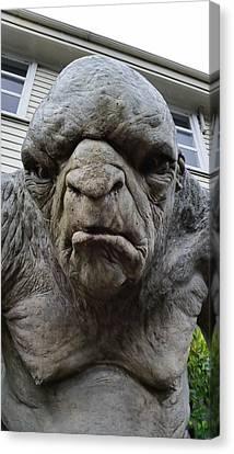 New Zealand - William The Troll Canvas Print by Jeffrey Shaw