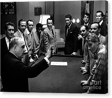 Ocean's 11 Promotional Photo Canvas Print