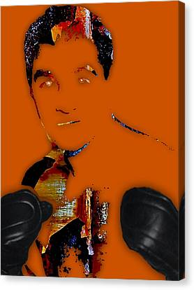 Rocky Marciano Collection Canvas Print by Marvin Blaine