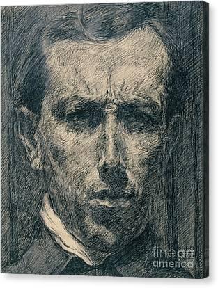 Boccioni Canvas Print - Self Portrait by Umberto Boccioni