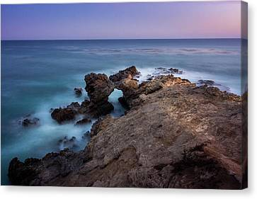 Smooth Waves At Sequit Point Canvas Print