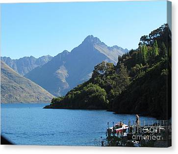 Canvas Print - South Island New Zealand by Joyce Woodhouse