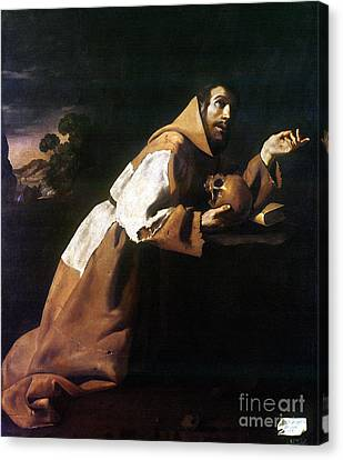 St. Francis Of Assisi Canvas Print by Granger