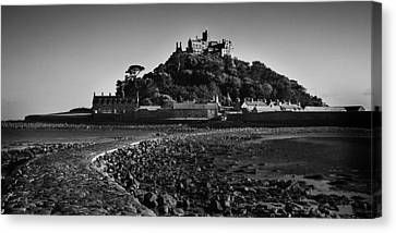 St Michaels Mount Canvas Print by Martin Newman