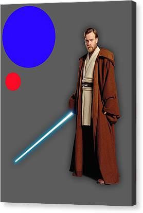 Film Canvas Print - Star Wars Obi Wan Kenobi Collection by Marvin Blaine