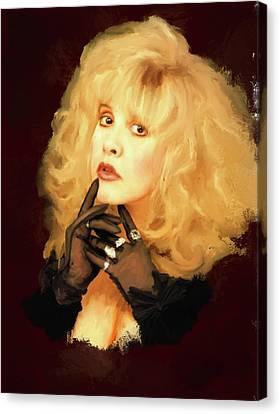 Stevie Nicks Canvas Print by Brian Tones
