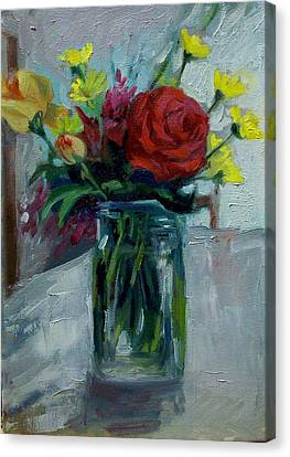 Still Life Canvas Print by George Siaba