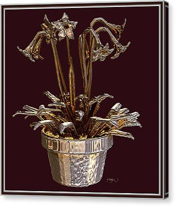Still Life With Flowers Canvas Print by Pemaro