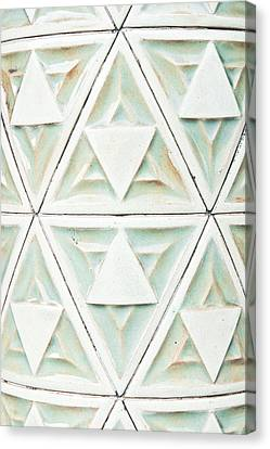 Stone Pattern Canvas Print by Tom Gowanlock