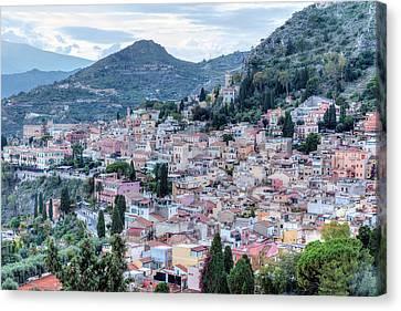 Taormina - Sicily Canvas Print