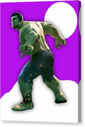 Movie Canvas Print - The Incredible Hulk Collection by Marvin Blaine