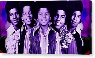The Jackson 5 Collection Canvas Print
