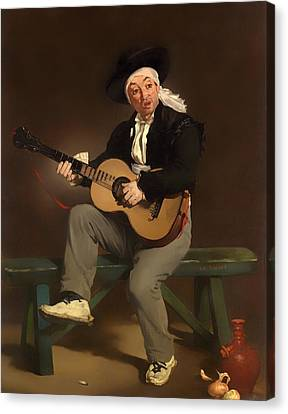 The Spanish Singer Canvas Print by Mountain Dreams