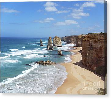 The Twelve Apostles Canvas Print by Eena Bo