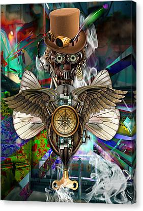 Time Traveler Art Canvas Print