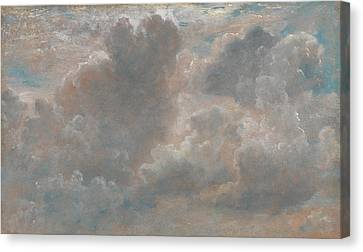 Title Cloud Study Canvas Print by John Constable