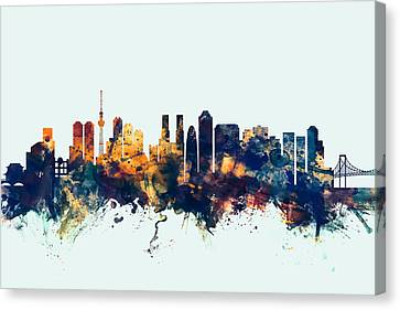 Tokyo Japan Skyline Canvas Print