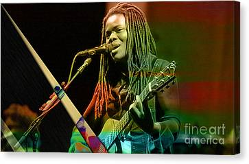 Tracy Chapman Collection Canvas Print by Marvin Blaine