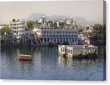 Udaipur - India Canvas Print by Joana Kruse