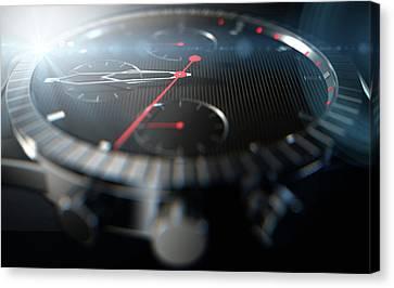 Chronometer Canvas Print - Watch Closeups by Allan Swart