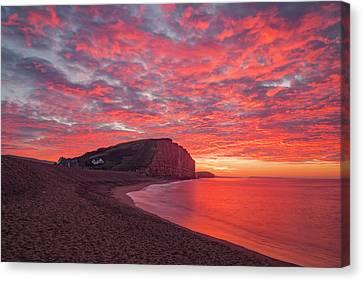 Canvas Print - West Bay - England by Joana Kruse
